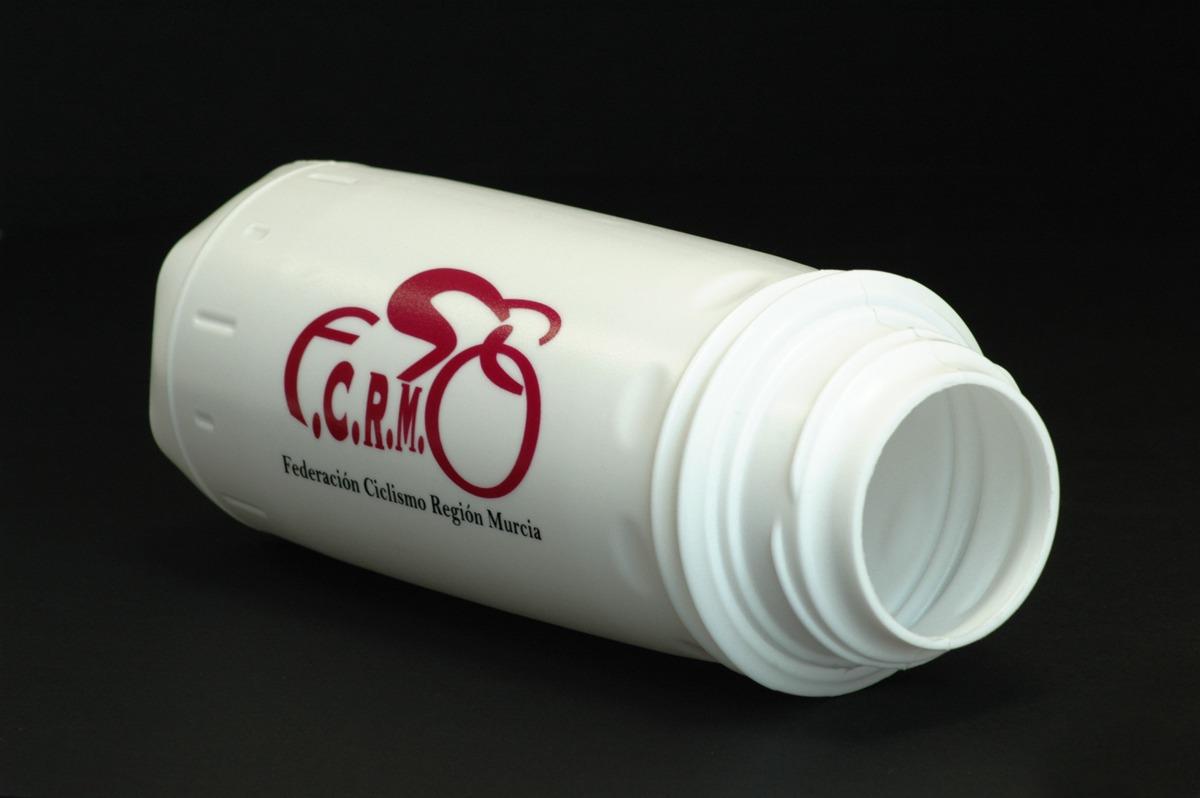 serigrafía en botellas de plástico